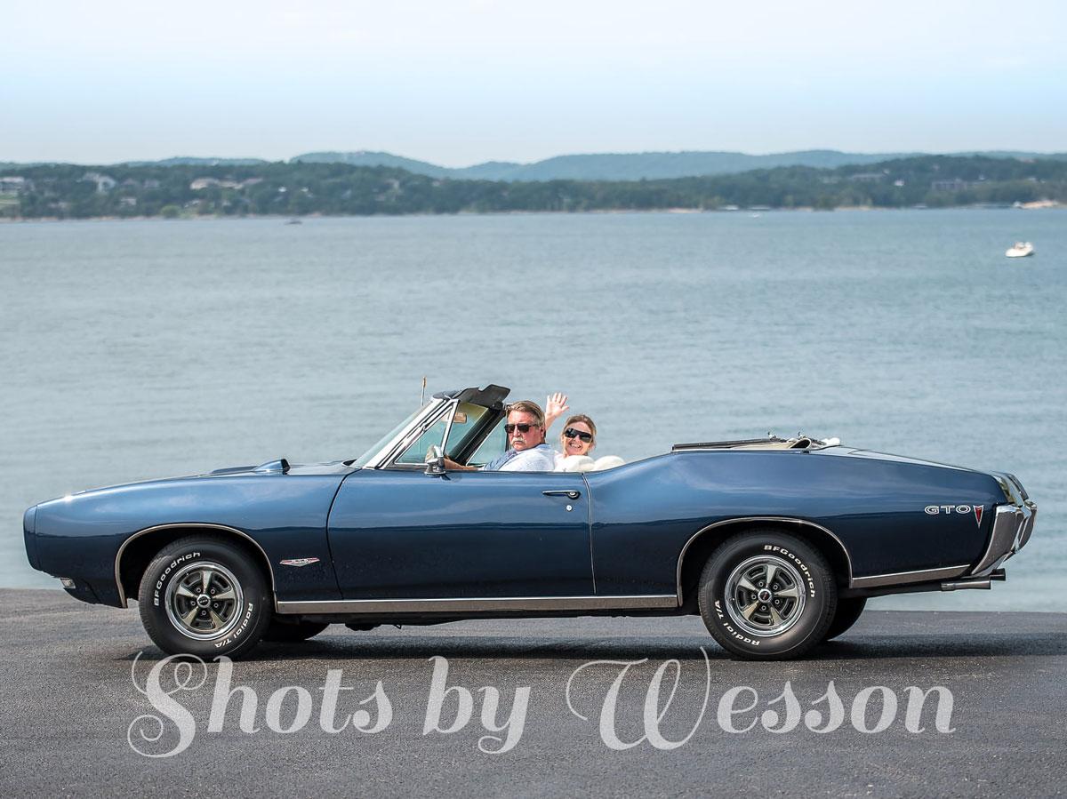 Frank & Judy Hicks - 1968 Pontiac GTO